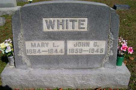 WHITE, JOHN G. - Scioto County, Ohio | JOHN G. WHITE - Ohio Gravestone Photos