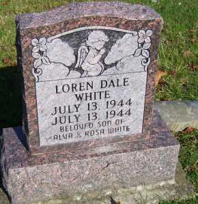 WHITE, LOREN DALE - Scioto County, Ohio | LOREN DALE WHITE - Ohio Gravestone Photos