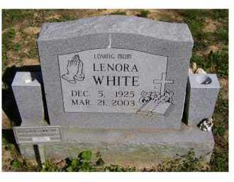 WHITE, LENORA - Scioto County, Ohio | LENORA WHITE - Ohio Gravestone Photos