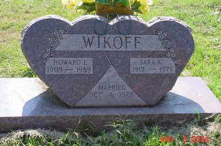WIKOFF, HOWARD - Scioto County, Ohio | HOWARD WIKOFF - Ohio Gravestone Photos