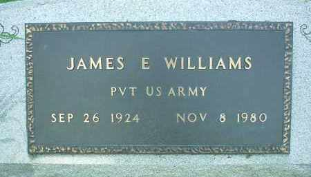 WILLIAMS, JAMES E. - Scioto County, Ohio | JAMES E. WILLIAMS - Ohio Gravestone Photos