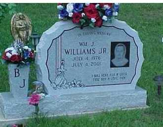 WILLIAMS, WM. J. JR. - Scioto County, Ohio | WM. J. JR. WILLIAMS - Ohio Gravestone Photos