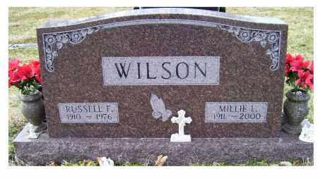WILSON, RUSSELL F. - Scioto County, Ohio | RUSSELL F. WILSON - Ohio Gravestone Photos