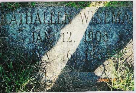 WISEMAN, KATHALEEN - Scioto County, Ohio | KATHALEEN WISEMAN - Ohio Gravestone Photos