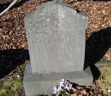 WOLFORD, CLARK - Scioto County, Ohio | CLARK WOLFORD - Ohio Gravestone Photos