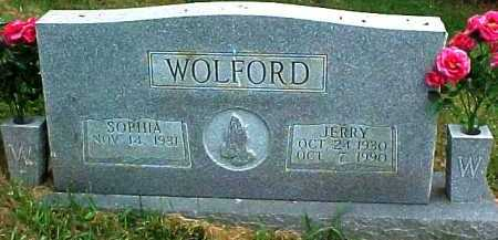 WOLFORD, JERRY - Scioto County, Ohio | JERRY WOLFORD - Ohio Gravestone Photos