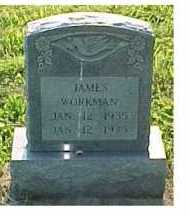 WORKMAN, JAMES - Scioto County, Ohio | JAMES WORKMAN - Ohio Gravestone Photos