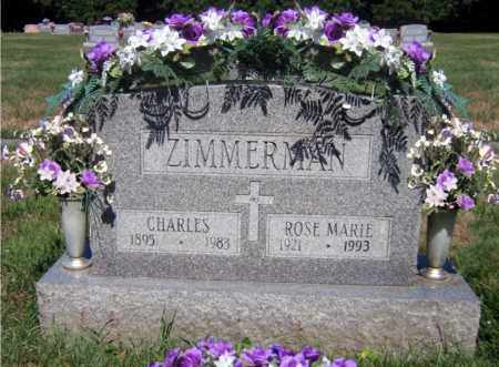 ZIMMERMAN, CHARLES - Scioto County, Ohio | CHARLES ZIMMERMAN - Ohio Gravestone Photos