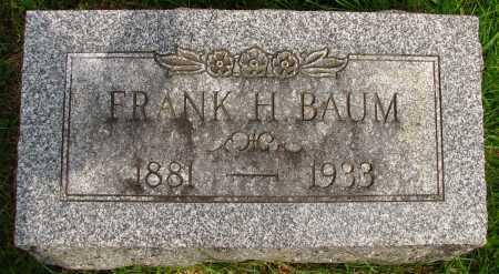 BAUM, FRANK - Seneca County, Ohio | FRANK BAUM - Ohio Gravestone Photos