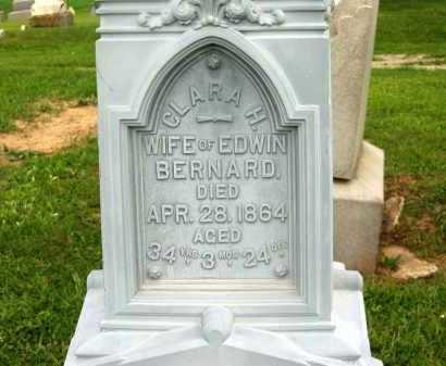 BERNARD, CLARA H. - Seneca County, Ohio | CLARA H. BERNARD - Ohio Gravestone Photos