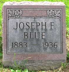 BLUE, JOSEPH F. - Seneca County, Ohio | JOSEPH F. BLUE - Ohio Gravestone Photos