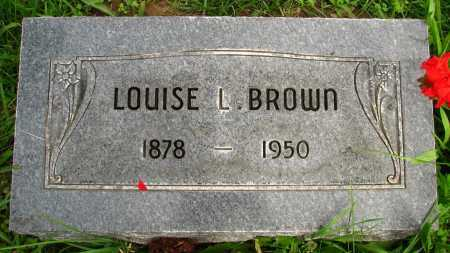 BROWN, LOUISE - Seneca County, Ohio | LOUISE BROWN - Ohio Gravestone Photos