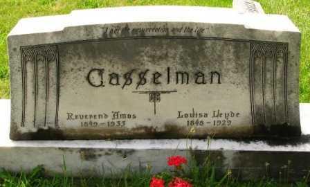 CASSELMAN, AMOS - Seneca County, Ohio | AMOS CASSELMAN - Ohio Gravestone Photos
