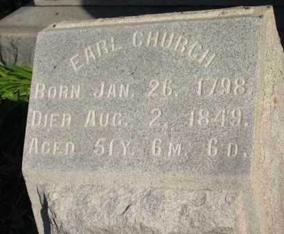 CHURCH, EARL - Seneca County, Ohio | EARL CHURCH - Ohio Gravestone Photos
