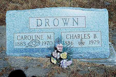 DIETRICH DROWN, CAROLINE MARGARET - Seneca County, Ohio | CAROLINE MARGARET DIETRICH DROWN - Ohio Gravestone Photos