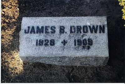 DROWN, JAMES BAILEY - Seneca County, Ohio | JAMES BAILEY DROWN - Ohio Gravestone Photos