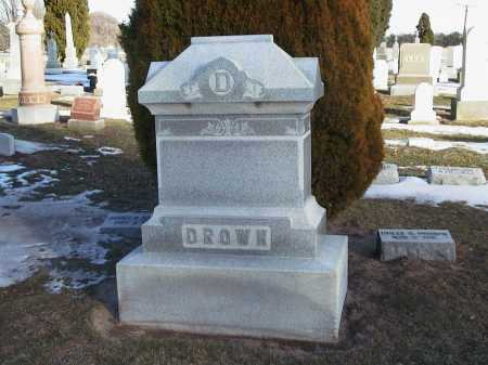 PERIN DROWN, DOLLY REBECCA - Seneca County, Ohio | DOLLY REBECCA PERIN DROWN - Ohio Gravestone Photos