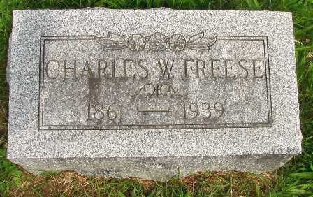 FREESE, CHARLES W. - Seneca County, Ohio | CHARLES W. FREESE - Ohio Gravestone Photos