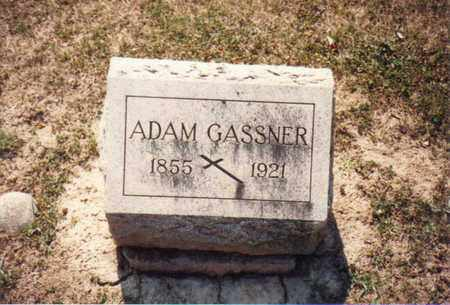 GASSNER, ADAM - Seneca County, Ohio | ADAM GASSNER - Ohio Gravestone Photos
