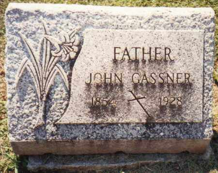 GASSNER, JOHN - Seneca County, Ohio | JOHN GASSNER - Ohio Gravestone Photos