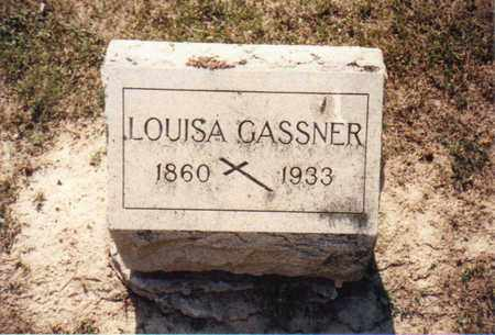 GASSNER, LOUISA - Seneca County, Ohio | LOUISA GASSNER - Ohio Gravestone Photos