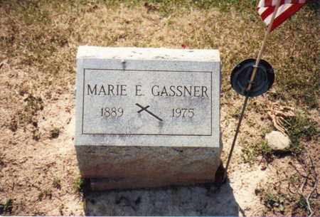 GASSNER, MARIE - Seneca County, Ohio | MARIE GASSNER - Ohio Gravestone Photos
