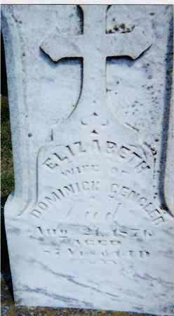 KREMER GENGLER, ELIZABETH - Seneca County, Ohio | ELIZABETH KREMER GENGLER - Ohio Gravestone Photos