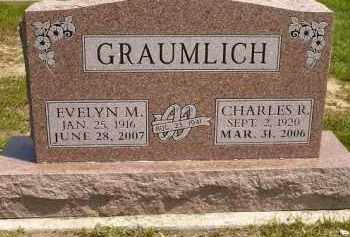 HERBERT GRAUMLICH, EVELYN M. - Seneca County, Ohio | EVELYN M. HERBERT GRAUMLICH - Ohio Gravestone Photos