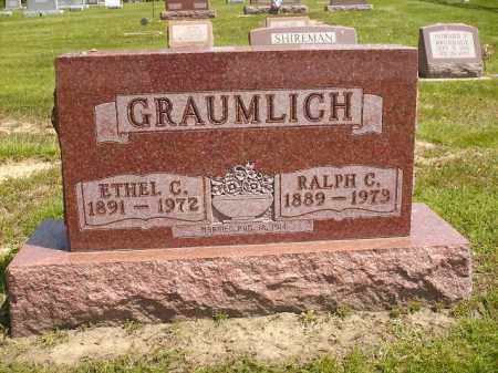 DICK GRAUMLICH, ETHEL CORA - Seneca County, Ohio | ETHEL CORA DICK GRAUMLICH - Ohio Gravestone Photos