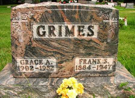 GRIMES, GRACE A. - Seneca County, Ohio | GRACE A. GRIMES - Ohio Gravestone Photos