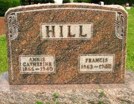 HILL, FRANCIS - Seneca County, Ohio | FRANCIS HILL - Ohio Gravestone Photos