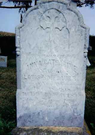 GENGLER HOFFBAUER, ANNA CATHERINE - Seneca County, Ohio | ANNA CATHERINE GENGLER HOFFBAUER - Ohio Gravestone Photos