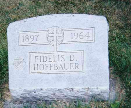 HOFFBAUER, FIDELIS DOMINICK - Seneca County, Ohio | FIDELIS DOMINICK HOFFBAUER - Ohio Gravestone Photos