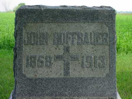 HOFFBAUER, JOHN - Seneca County, Ohio | JOHN HOFFBAUER - Ohio Gravestone Photos