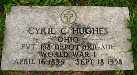 HUGHES, CYRIL C. - Seneca County, Ohio | CYRIL C. HUGHES - Ohio Gravestone Photos
