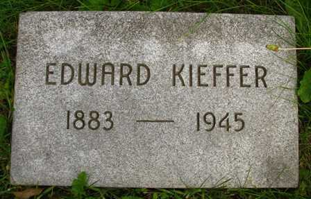 KIEFFER, EDWARD - Seneca County, Ohio | EDWARD KIEFFER - Ohio Gravestone Photos