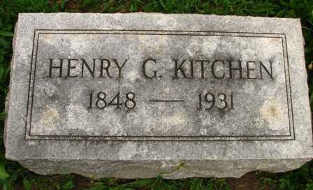 KITCHEN, HENRY G. - Seneca County, Ohio | HENRY G. KITCHEN - Ohio Gravestone Photos