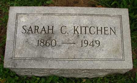 KITCHEN, SARAH C. - Seneca County, Ohio | SARAH C. KITCHEN - Ohio Gravestone Photos