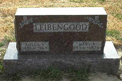 LEIBENGOOD, ROLLA V - Seneca County, Ohio | ROLLA V LEIBENGOOD - Ohio Gravestone Photos