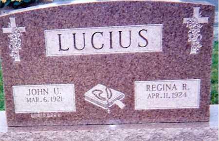LUCIUS, JOHN U - Seneca County, Ohio | JOHN U LUCIUS - Ohio Gravestone Photos