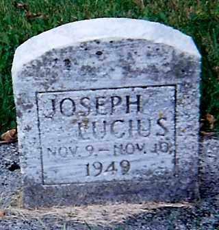 LUCIUS, JOSEPH - Seneca County, Ohio | JOSEPH LUCIUS - Ohio Gravestone Photos