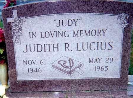 LUCIUS, JUDITH R - Seneca County, Ohio | JUDITH R LUCIUS - Ohio Gravestone Photos