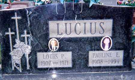 LUCIUS, LOUIS P. - Seneca County, Ohio | LOUIS P. LUCIUS - Ohio Gravestone Photos