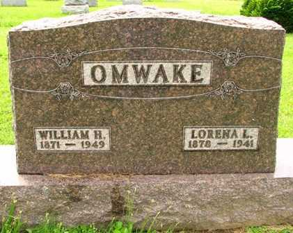 OMWAKE, LORENA L. - Seneca County, Ohio | LORENA L. OMWAKE - Ohio Gravestone Photos