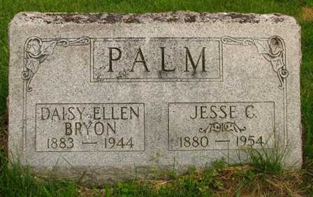 BRYON PALM, DAISY ELLEN - Seneca County, Ohio | DAISY ELLEN BRYON PALM - Ohio Gravestone Photos