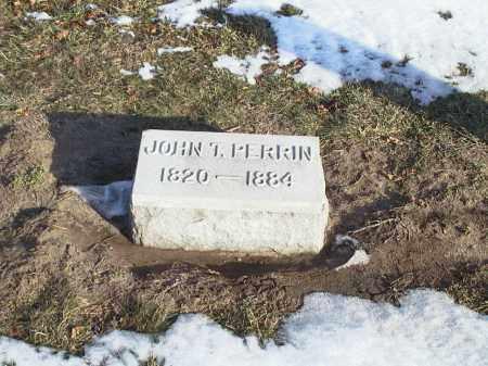 PERRIN, JOHN TAYLOR - Seneca County, Ohio | JOHN TAYLOR PERRIN - Ohio Gravestone Photos