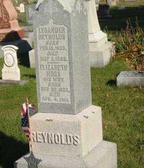 REYNOLDS, LYSANDER - Seneca County, Ohio | LYSANDER REYNOLDS - Ohio Gravestone Photos