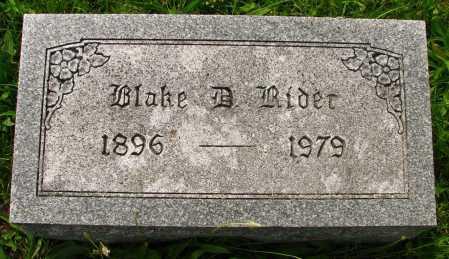RIDER, BLAKE - Seneca County, Ohio | BLAKE RIDER - Ohio Gravestone Photos