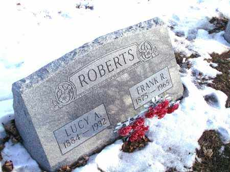 ROBERTS, LUCY ARMIDA - Seneca County, Ohio | LUCY ARMIDA ROBERTS - Ohio Gravestone Photos
