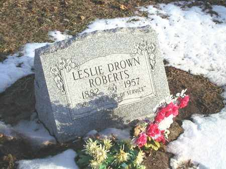 DROWN ROBERTS, LESSIE MAE - Seneca County, Ohio | LESSIE MAE DROWN ROBERTS - Ohio Gravestone Photos